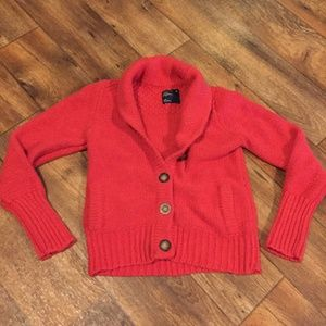 American Eagle Button Front Cardigan Sweater